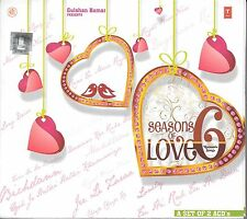 SEASONS OF LOVE 6 - NEW BOLLYWOOD SOUND TRACK 2CDs SET - FREE UK POST