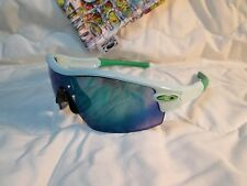 CUSTOM New Oakley Sunglasses Radar Path Polished Light Green /w Jade IridiumLens