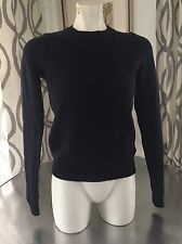 ABERCROMBIE & FITCH Women Knit Sweater Top  Navy Blue Size XS