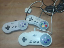 Lot of 3 SNES Turbo Controller SNES Console Control Super Pad as is