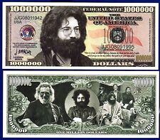 1-Jerry Garcia Grateful Dead Dollar Bill-Music Collectible- FAKE  Money ITEM-Q