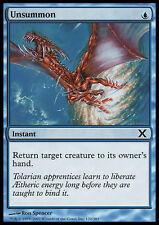 MTG UNSUMMON FOIL! - CONTROEVOCAZIONE - X - MAGIC