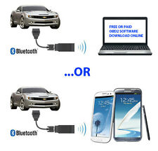 ELM327 Bluetooth Adapter Scanner Torque Android OBD2 OBDII Code Reader Scan Tool