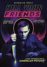 KILL YOUR FRIENDS DVD 2015 release NEW sealed Radiohead Blur Oasis soundtrack