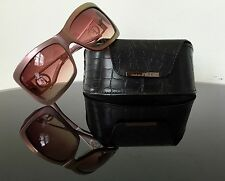 Jean Franco Ferre Woman's Sunglasses Pink Pearl Colour With Case