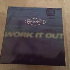 Def Leppard Work It Out US Radio Promo CD Single RARE OOP!1996