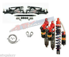 Houser XC A-Arms Elka Stage 3 Long Travel Front Rear Shocks Suspension Kit 450R