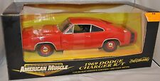 ERTL 1/18 1969 Dodge Charger R/T RED #32257 NEW American Muscle '69 rc2 die-cast