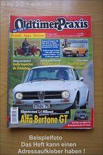 Oldtimer Praxis 8/04 Alfa Bertone GT Honda Z 600 DKW