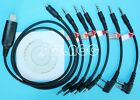 6 in 1 USB Programming Cable for ICOM IC-P7A IC-R10 IC-R2 IC-R20 IC-R3 IC-R5