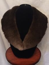 Genuine Sheared Beaver Fur Collar