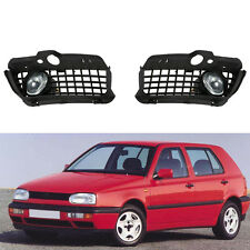 FOG LIGHT DAYTIME RUNNING LAMP BUMPER GRILLE Fit For 92-98 VW JETTA GOLF MK3 SGG