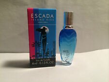 Escada ISLAND KISS mini 4ml EDT miniature perfume limited edition bottle new/box