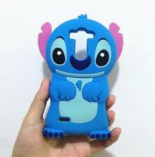 3D Cartoon Stitch Phone Cases Back Cover Skin For LG G3 S D722 D724 D725 G3 Mini