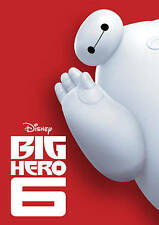 Big Hero 6 - Disney / Marvel (DVD, disk only) Perfect Condition!