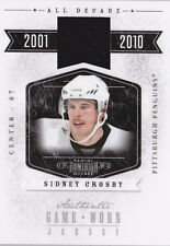10-11 Dominion Sidney Crosby /99 Jersey All Decade Penguins 2010