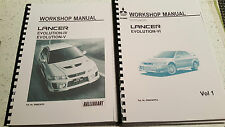 MITSUBISHI LANCER EVO IV / V / VI WORKSHOP MANUAL REPRINTED