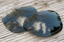 Dark Slate Grey Polarized Replacement Sunglass Lenses for Oakley Frogskins