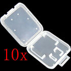 10x Memory Card Protective Plastic Storage Case, SDHC TF Micro SD Adapter Holder