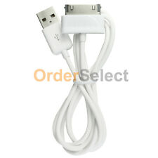 "White USB Sync Battery Charger Cable for Samsung Galaxy Tab Tablet 7.7"" 8.9"""