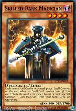 3x Skilled Dark Magician - SDSC-EN007 - Common NM Spellcaster's Command Yugioh