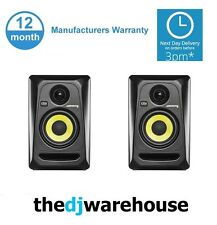 "2x KRK Rokit RP4 G3 - 4"" Active Studio Monitor - Pair"