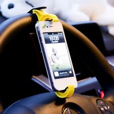Car Bike Auto Fahrrad Halterung Mount Lenkrad Halter für Handy GPS Cradle Holder