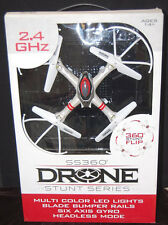 SS360 Stunt Series Hobby Grade Drone 6 Axis Gyro, 2.4 GHZ, Headless Mode [M4243]