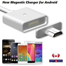 Magnetic Micro usb charging cable for Samsung android LG phone charger adapter
