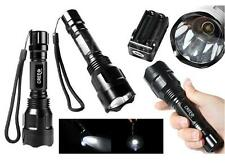 New 2000 Lumen UltraFire C8 CREE XM-L2 T6 LED Flashlight Torch 5-Mode