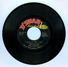 Philippines RENE AND RENE Love Is For The Two Of Us OPM 45 rpm Record
