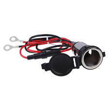 12V Car Motor Boat Waterproof Female Cigarette Lighter Socket Power Plug Outlet