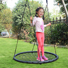 "40"" Wide Tree Net Swing Outdoor Spider Web Swing Children's Net Swing Adjustable"