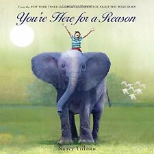 You're Here for a Reason by Nancy Tillman [Hardcover] FREE SHIPPING NEW