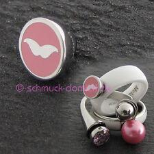 "MelanO Twisted girls collection - Aufsatz ""Mr. Moustache"" - rosa"
