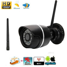 HD 2MP 1080P WIFI CCTV Webcam Network Wireless IP Camera Outdoor ONVIF Security