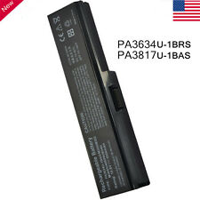 New PA3817U-1BRS C655 for Toshiba Satellite L655 PA3817U-1BAS PC Laptop Battery