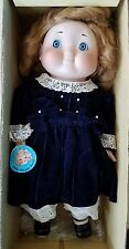 House of Global Art DOLLY DINGLE Limited Ed. Porcelain Musical Doll *FREE SHIP*