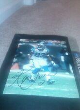 Ken Lucas Carolina Panthers Signed  8x10 Photo Mississippi Rebels