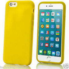 Soft Silicone Case Matte Plain Gel Rubber Grip Cover For Apple iPhone 6 Plus 5 4