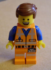 Lego - The Lego Movie Figur - Emmet ( Bauarbeiter Mann Emet orange ) Neu
