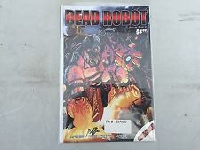 DEAD ROBOT  #2 Signed by  ROB BASS