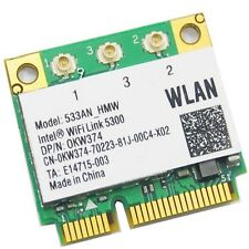 5300 533AN Half Mini PCIe Wireless N WIFI Card for Intel Dell Acer Asus Toshiba