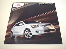 Kia . Pro-Ceed . 3-door Hatchback . 2010 Sales Brochure