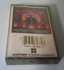 Kansas - Audio-Visions - Cassette - SEALED