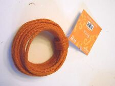 25 Foot Orange Wired Bendable Rope Craft Wreath Halloween Decoration Fall