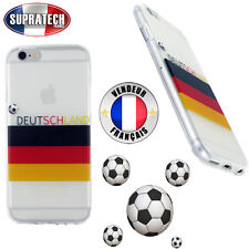 Housse Silicone Fumé Motif Football Allemagne pour Apple iPhone 6 iPhone 6S