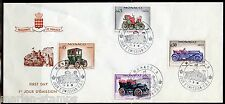 MONACO 1961 CAR SET ON THREE FIRST DAY COVERS SLIGHTLY WRINKLED ENVELOPES