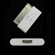 8 Pin Female to 30 Pin male Adapter Converter iPhone 4 and iphone 5 white new