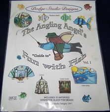 Stained Glass Patterns Angling Angels FUN WITH FISH With 10 Handmade Fish Beads